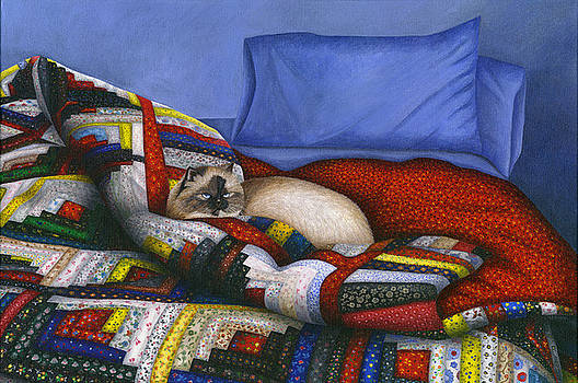 Molly - A Rescue Cat by Carol Wilson