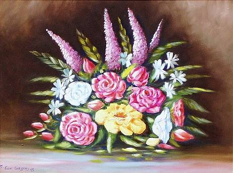 Moms flowers by Gene Gregory