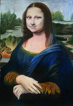 Mona Lisa of Da Vinci by Bindu N