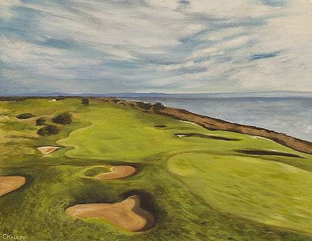 Monarch Bay Golf Course by Christina Knapp
