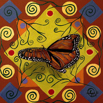 Monarch butterfly by Maggie Ullmann