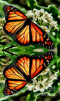 Monarch Reflection by Robert ONeil