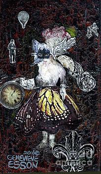 Monarch Steampunk Goddess by Genevieve Esson