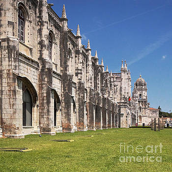 Monastery of the Hieronymites Lisbon 3 by Rudi Prott