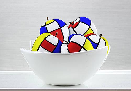 Mondrian's Apples by Chrystyne Novack