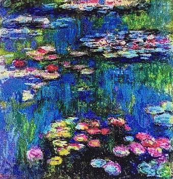 Claude Monet, Water Lilies, 1916 by Elena Soldatkina