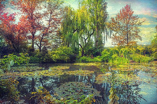 Monet's Afternoon by John Rivera