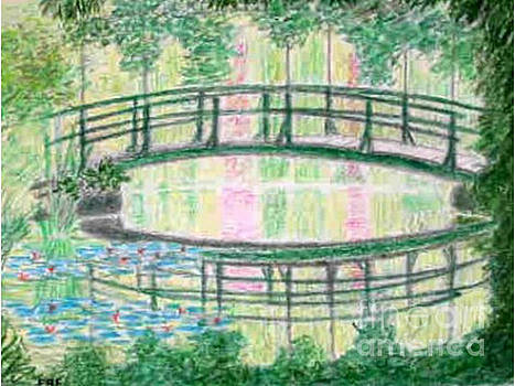 Monet's Gardens, Giverrny - Reflections by Peter Farrow