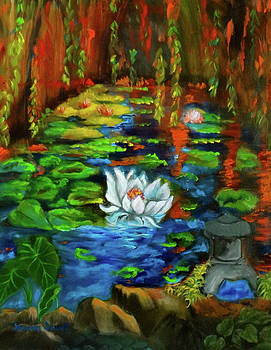 Monet's Pond by Jenny Lee