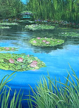Monet's Pond by Maryann Boysen
