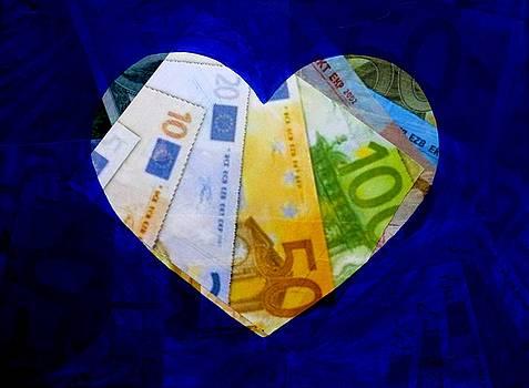 Money Collage II by John  Nolan
