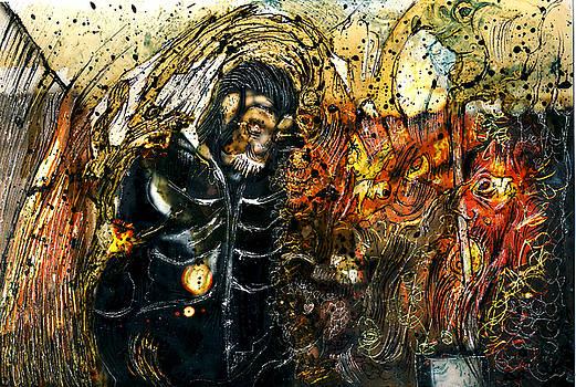 Monkey Demon by Grebo Gray