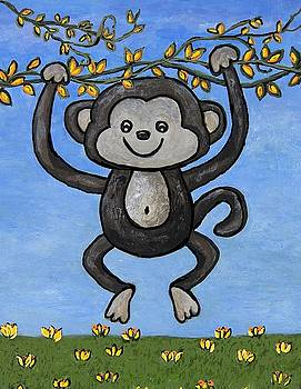 Monkey for Elli by Suzanne Theis