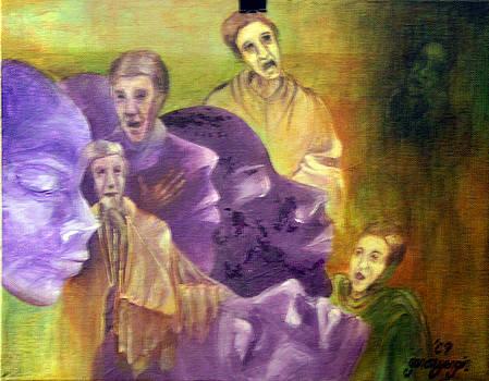 Monks in Dream by Gonca Yengin
