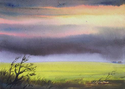 Monsoon Corn Field by Samiran Sarkar
