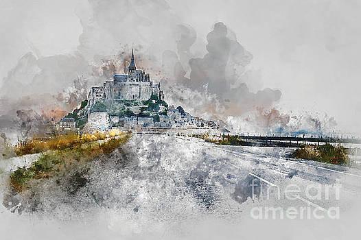 Mont Saint Michel by Ann Garrett