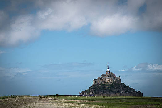 Mont Saint-Michel. Normandy. France by Zina Zinchik