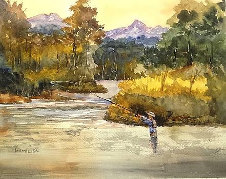 Montana Fly Fishing by Larry Hamilton