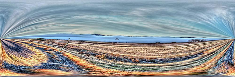 Montana View Mirror by Aliceann Carlton
