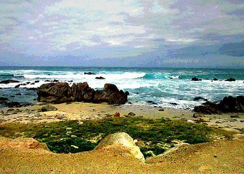 Joyce Dickens - Monterey Bay Watercolor