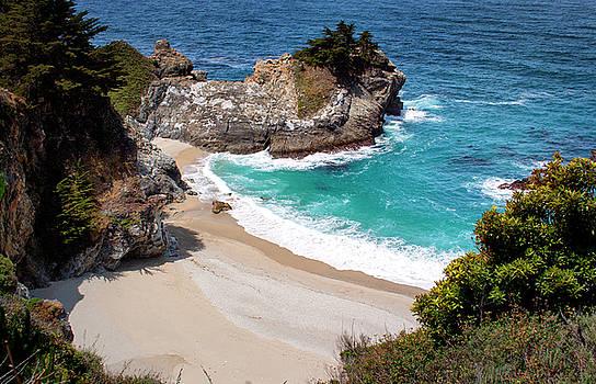 Monterey Private Beach by David Millenheft