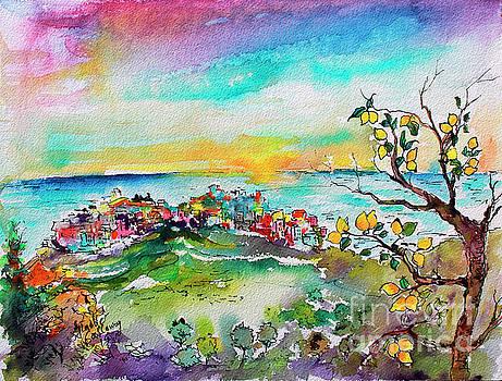 Ginette Callaway - Monterosso al Mare Lemon Orchards