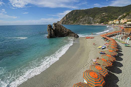 Monterosso Beach Day by Brad Scott