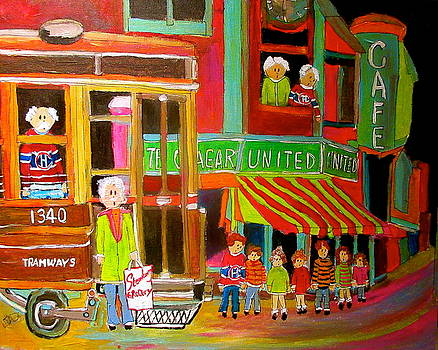 Michael Litvack - Montreal Tramways United Cigar Store