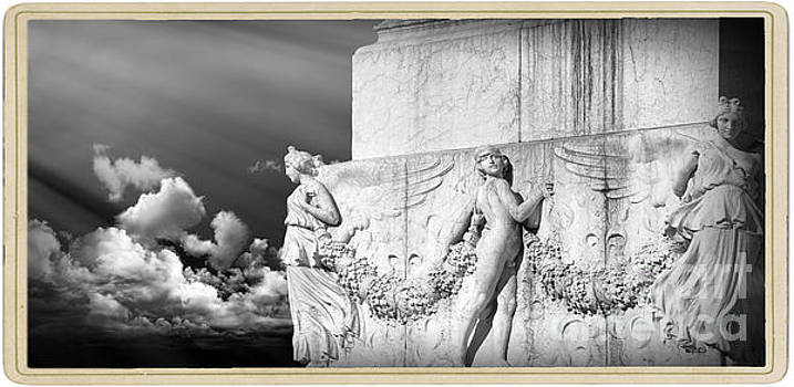 Monument Particular in Rome by Stefano Senise