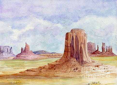 Monument Valley Artist Point by Marilyn Smith
