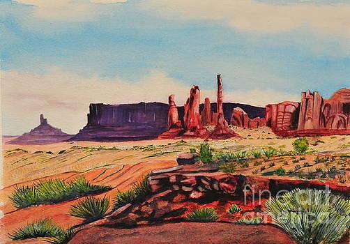 Monument Valley by John W Walker