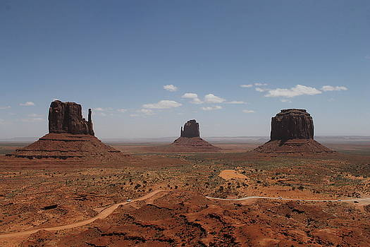 Monument Valley Navajo Park by Christopher Kirby