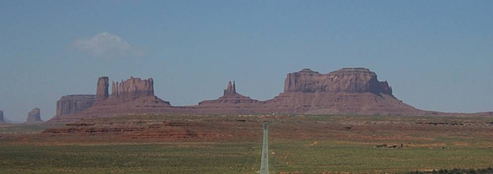 Monument Valley Navajo Tribal Park by Christopher Kirby