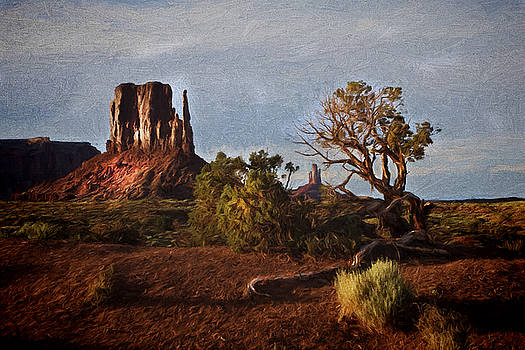 Monument Valley Painting by Jonas Wingfield