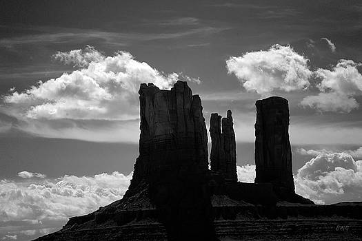 David Gordon - Monument Valley VII BW