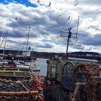 Moody Sea 🌊 #scarborough by Dante Harker