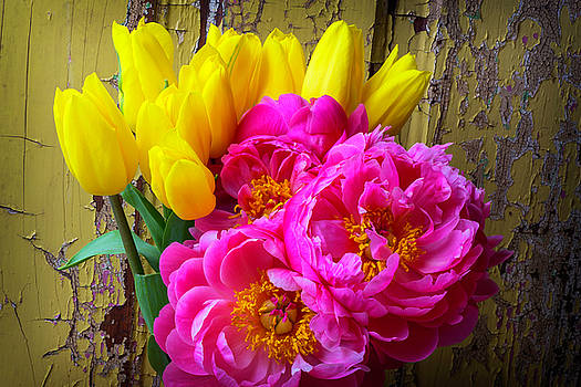 Moody Tulis And Peony's by Garry Gay