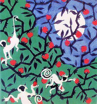 Moon and Monkey Tree by Walter Clark