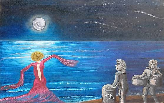 Moon Attraction by Alessia Orlandi