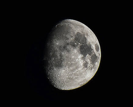 Moon, Aug 13th 2016 by Jeffrey Platt