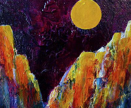 Moon Canyon by Janice Nabors Raiteri