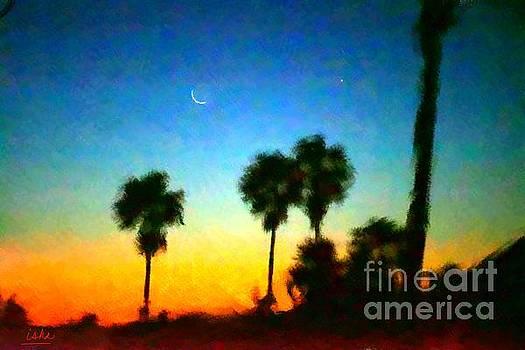 Gerhardt Isringhaus - Moon Jupiter Sunrise