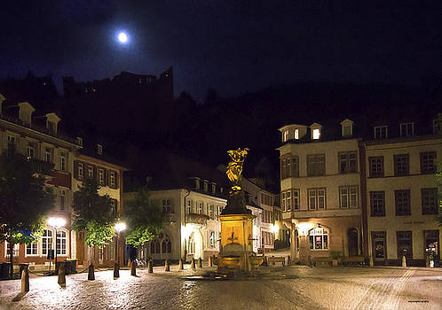 Moon Over Heidelburg by Ron Jones