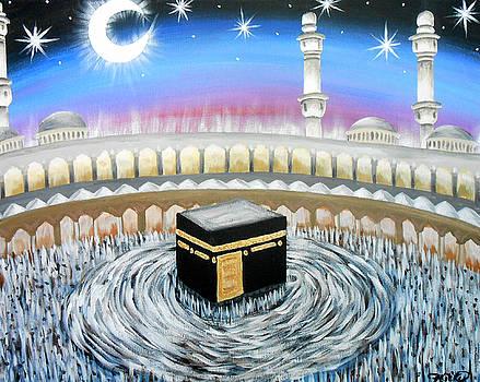 Moon Over Kaaba by Felicity LeFevre