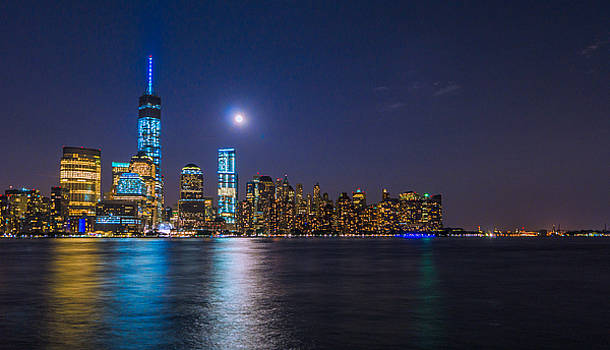 Moon Over Manhattan by Casey Stanford