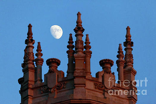 James Brunker - Moon over Palace of Communication Madrid