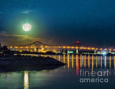 Nick Zelinsky - Moon Over the Barry Bridge