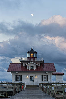 Moon over the Light by Gregg Southard