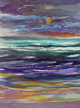 Moon rising by Julianne Felton
