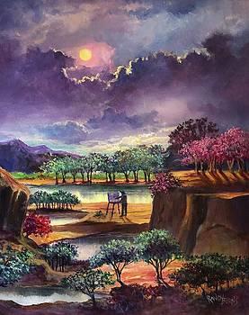 Moonbeams and Mirrors by Randy Burns
